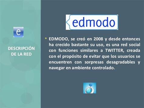 edmodo y similares uso educativo de redes sociales edmodo rca