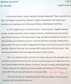 Boston Tea Essay by Essays Poems And Other Stuff Essay
