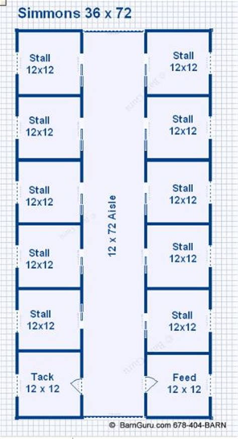 Monitor Style Barn Plans by 10 Stall Horse Barn Design Plans