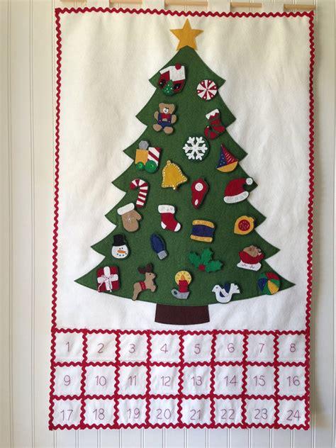 Handmade Advent Calendars - handmade advent calendar wool felt advent calendar