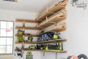 Diy Make Your Garage Organization 20 Diy Garage Shelves To Meet Your Storage Needs Home