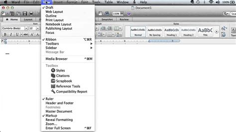layout of microsoft word how to make a print layout the default view layout in