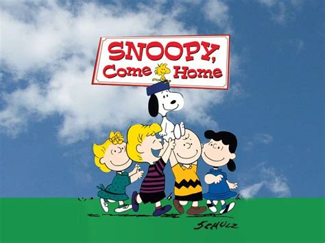 snoopy come home images