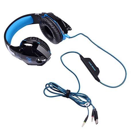 Kotion Each Gaming Headset Gs 200 Led Vibrate Gaming Headset Versiontech G2000 Pc Gaming Headset With Volume