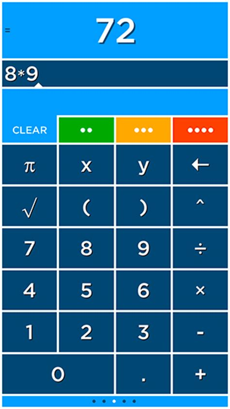 pattern in solving numbers without manually computing solve a colorful graphing calculator for iphone ipad