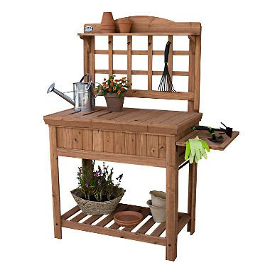 cedar potting bench sams club 124 92 potting bench by leisure time with storage dealepic