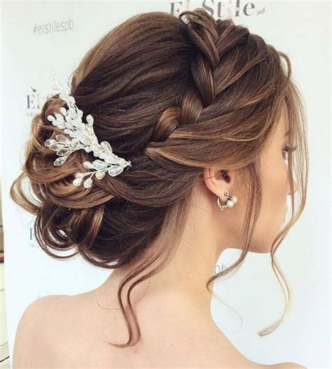 soft updo fine medium hair with bangs 25 best ideas about fall wedding hairstyles on pinterest