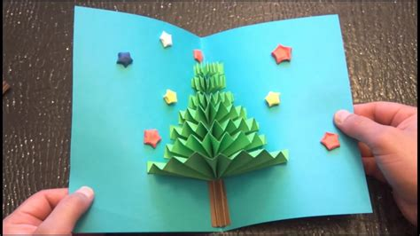 christmas card 3d making diy 3d pop up card easy how to make tcraft