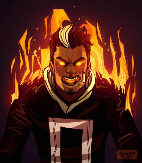 All New ghost Rider  Robbie Reyes by Cranity on DeviantArt