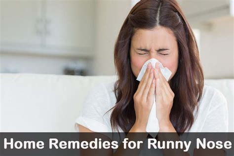21 diy home remedies for runny nose