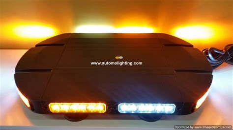 brightest led light bar 18 quot power6 brightest led emergency warning light bar
