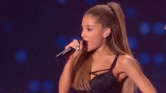 Bang bang into her face ariana grande gets smacked by an angel