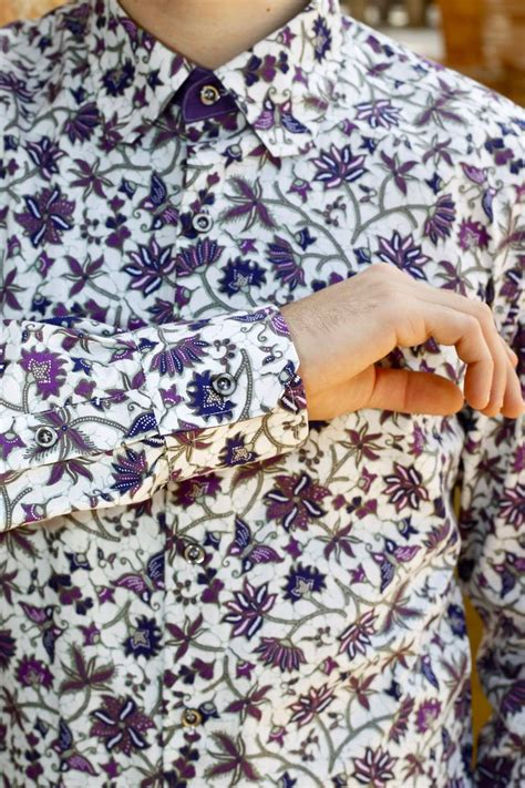 batik design inspiration indonesian fabric men shirt quot batik lilo quot fashion