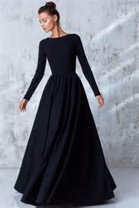 best 25 long black evening dress ideas on pinterest