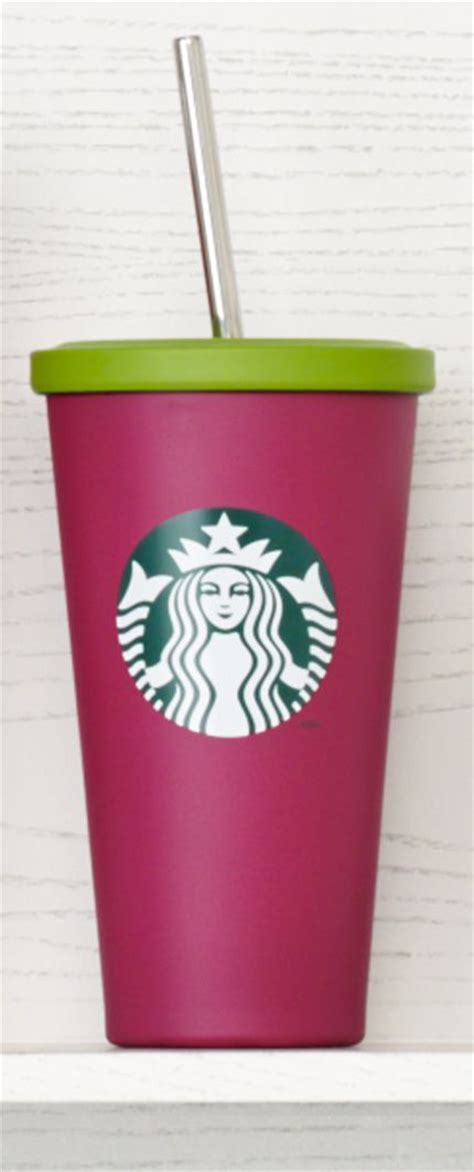 Starbucks Tumbler Stainless Steel Pink Cold Cup Summer Edition 2017 insulated stainless steel cold cup tumbler with siren logo stainless steel straw and matte