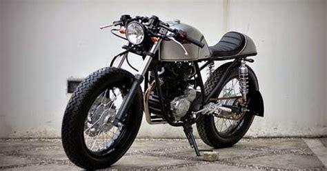 Lu Hid Motor Scorpio modifikasi motor yamaha scorpio caf 233 racer curan otomotif