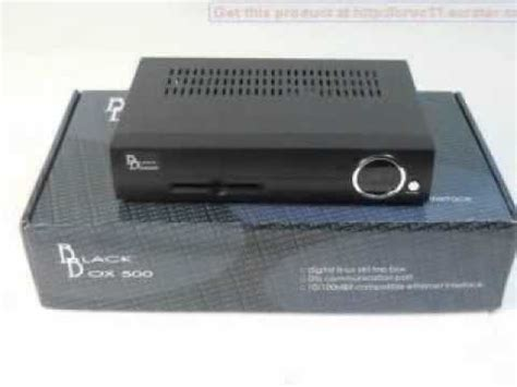blackbox 500 hd digital satellite receiver