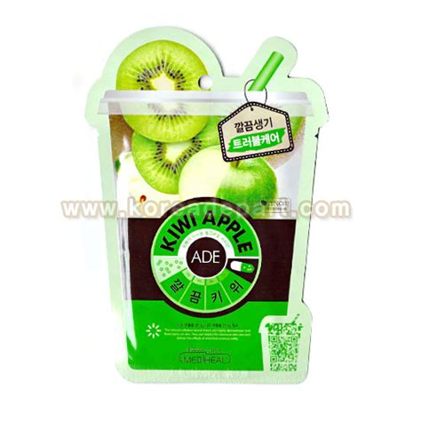 Masker Kiwi Clinic mediheal kiwi ade mask 5ea mediheal mask sheets shopping sale koreadepart