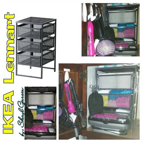 ikea organization hacks by sheryl garcia ikea lennart 3 drawer cart is meant for