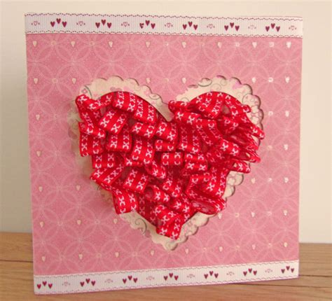 how do you make a card craft challenge valentines card hobbycraft