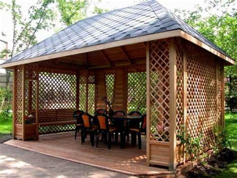 backyard gazebo ideas 22 beautiful garden design ideas wooden pergolas and