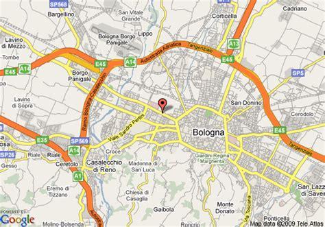 best western maggiore bologna map of best western hotel maggiore bologna