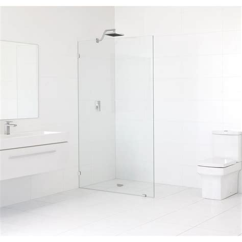 Fixed Panel Shower Door 30 In X 78 In Frameless Fixed Panel Shower Door In Chrome Without Handle Gw Sfp 30 Ch The