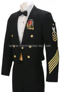 us navy chief petty pfficer and enlisted dinner dress blue
