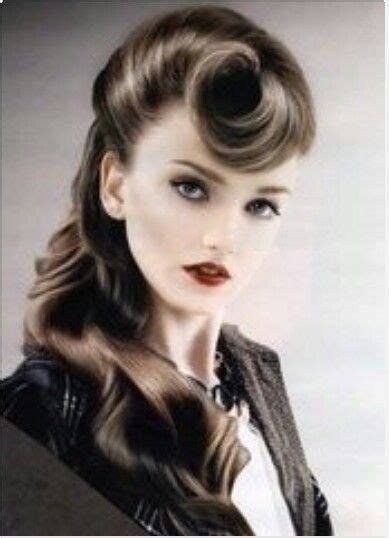 50s swing hairstyles the 25 best ideas about 50s hairstyles on
