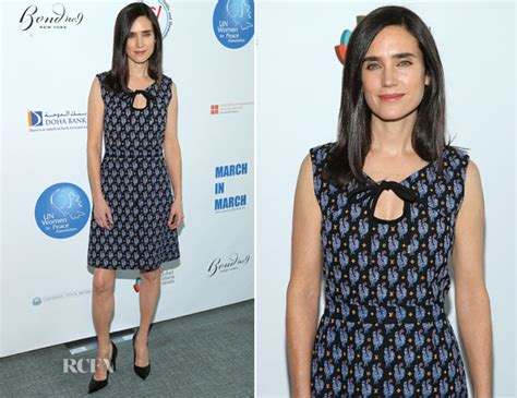 Un Delegates Dining Room by Jennifer Connelly In Louis Vuitton Un Women For Peace