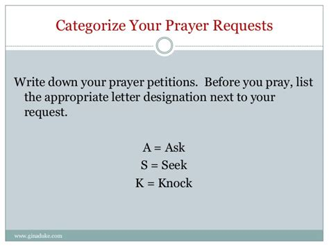 Petition Letter Prayer Simple Method For Organizing Your Prayer Requests