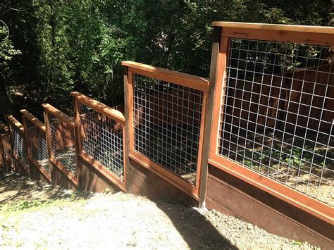 hog wire fence deer fencing construction portfolio a and j fencing