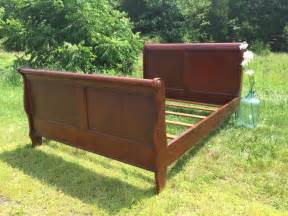 King Sleigh Bed Frame Variety Designs Sleigh Bed Frame