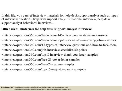 help desk interview questions top 10 help desk support analyst interview questions and