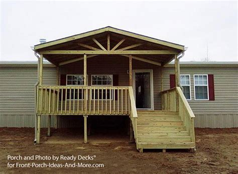 building small porch for mobile home design 481427