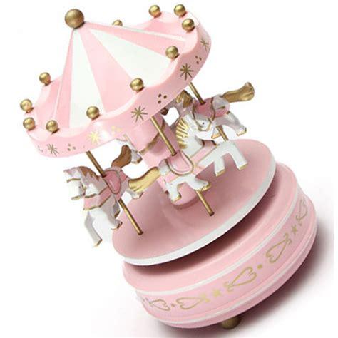 Payung Carousel Kotak Musik Hc kotak musik merry go musical box pink