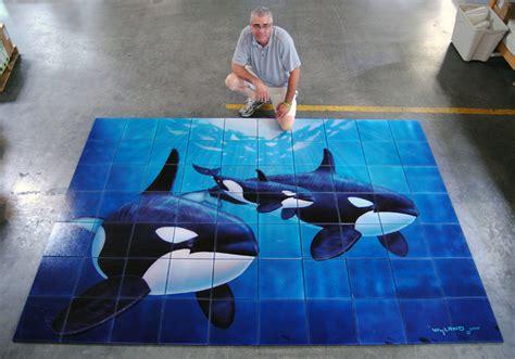 Wildlife Wall Mural wyland marine life artist wyland headlines