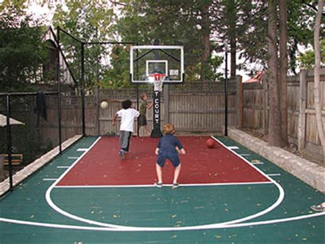 small backyard basketball court sport court pictures sport court design build a sport