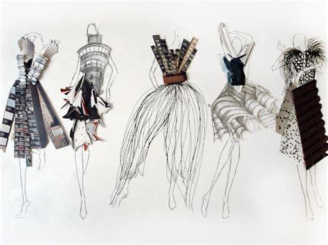 dress design university fashion illustration london art portfolio