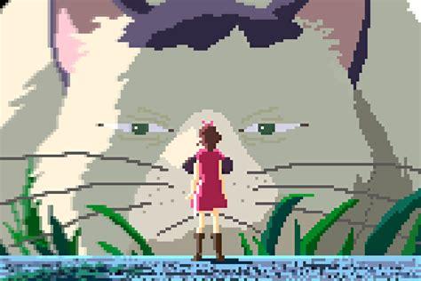 Anime 8 Bit by 1080p Studio Ghibli Anime 8bit Pixel 18 3