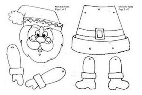 dibujos y plantillas para imprimir papa noel desenhos para recortar papai noel natal pinterest