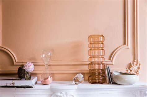 wall paint colour interior trend predicts warm copper blush homegirl