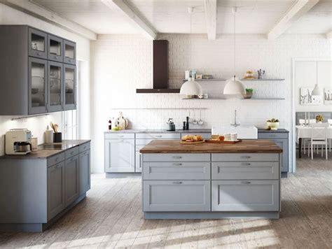 cuisine gris clair nos inspirations deco joli place