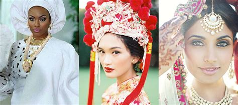 To Take On Another Cultures Traditional Dress For by Bridal Style 10 Images Of Beautiful Brides From Different