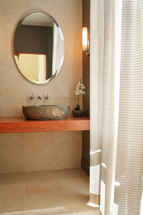 powder room bathroom stone vessel sinks powder room contemporary with bathroom