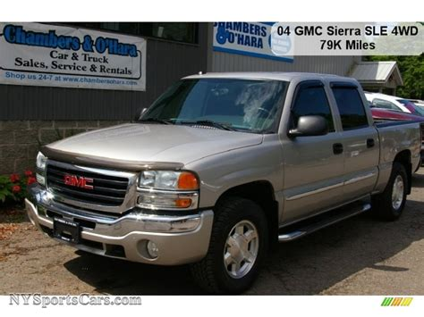 Sle Sales by 2004 Gmc 1500 Sle Crew Cab 4x4 In Silver Birch