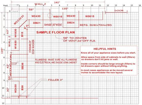 kitchen layout guide kitchen design guidlines