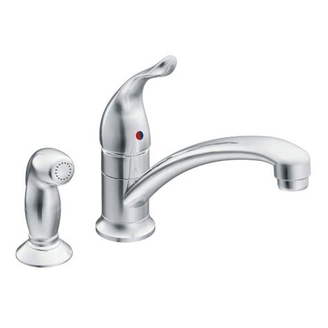 moen chateau kitchen faucet chateau chrome one handle low arc kitchen faucet 7437 moen