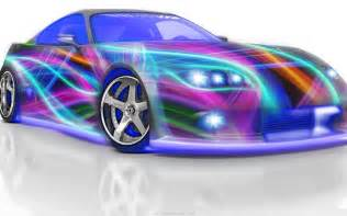 colorful cars artistic design 3d car colorful hd wallpaper