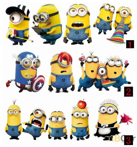 3d Sticker Minions by Find More Stickers Information About 18 Style Optional